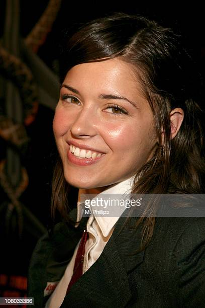 Sarah Lind during Snakes on a Plane Los Angeles Premiere Red Carpet at Grauman's Chinese Theater in Hollywood California United States