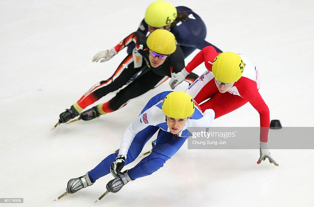 2008 ISU World Short Track Speed Skating Championships: Day 3 : News Photo