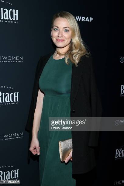 Sarah Lindsey attends TheWrap's 2018 Women Whiskey and Wisdom Celebrating Women Oscar Nominees at Teddy's at The Hollywood Rooselvelt Hotel on...