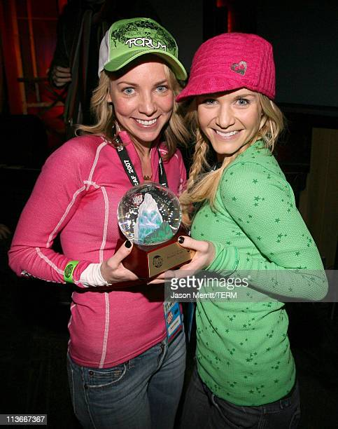 Sarah Litzsinger and Kate Reinders of TastiSkank during HBO's 13th Annual US Comedy Arts Festival Festival Awards Presentation at Belly Up in Aspen...