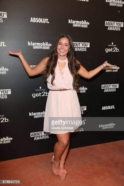 Sarah Lombardi during the ABOUT YOU AWARDS at the 'Mehr Theater' in Hamburg on May 4 2017 in Hamburg Germany