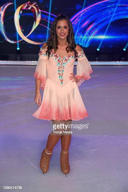 Sarah Lombardi during the 'Dancing On Ice' Sat1 TV show on January 27 2019 in Cologne Germany