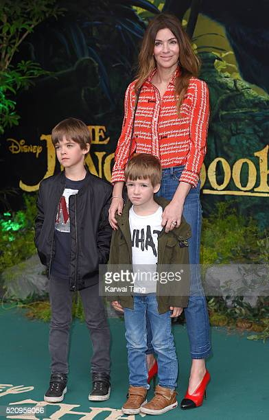 Sarah MacDonald arrives for the European premiere of 'The Jungle Book' at BFI IMAX on April 13 2016 in London England