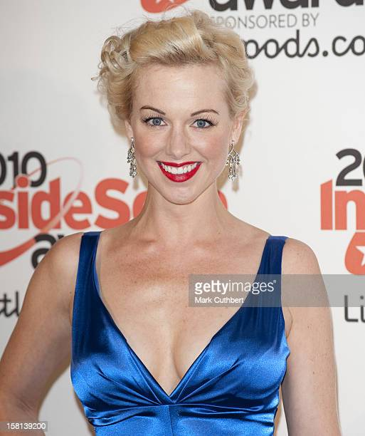 Sarah Manners Arrives At The 2010 Inside Soap Awards Held At Shaka Zulu In Camden London