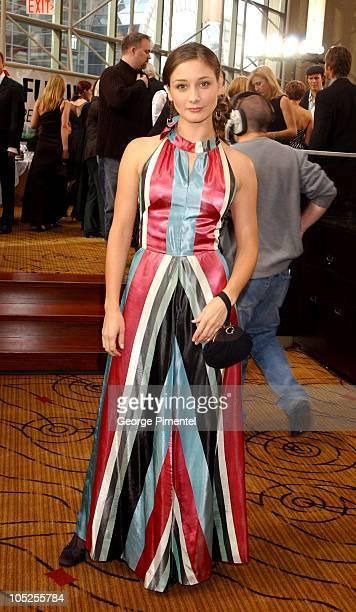 Sarah Manninen during 2003 18th Annual Gemini Awards - Pre Party at Metro Toronto Convention Centre in Toronto, Ontario, Canada.