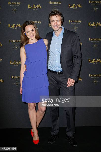 Sarah Maria Besgen and Guido Broscheit during the Hennessy 250th anniversary celebrations on May 05 2015 in Berlin Germany