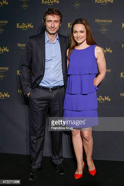Sarah Maria Besgen and Guido Broscheit during the Hennessy 250th anniversary celebrations on May 5 2015 in Berlin Germany