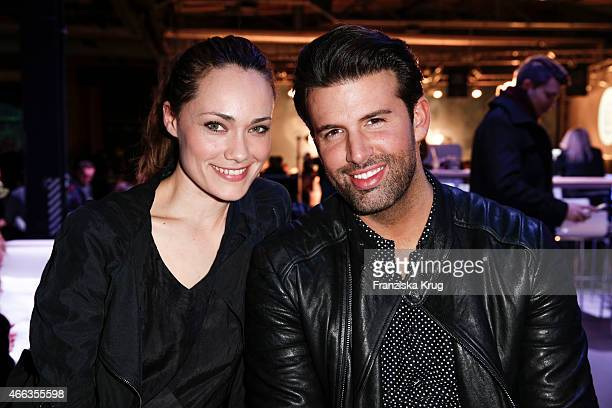 Sarah Maria Besgen and Jay Khan attend the Spirit of Istanbul by Yeni Raki on March 14, 2015 in Berlin, Germany.