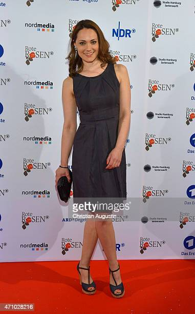 Sarah Maria Besgen attends the celebration of 2000 episodes of Rote Rosen at Ritterakademie on April 24 2015 in Lueneburg Germany