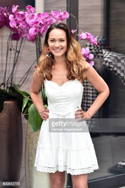 Sarah Maria Besgen attends the Sommerfest der Agenturen during Munich Film Festival 2017 at H'ugo's on June 24 2017 in Munich Germany