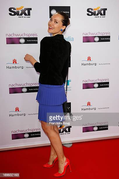 Sarah Maria Besgen attends the Studio Hamburg Nachwuchspreis 2013 at Thalia Theater on June 4 2013 in Hamburg Germany