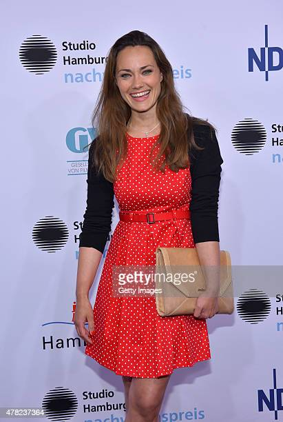 Sarah Maria Besgen attends the Studio Hamburg Nachwuchspreis 2015 at Thalia Theater on June 23 2015 in Hamburg Germany