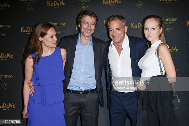 Sarah Maria Besgen Guido Broscheit Florian Fitz and Tatjana Thinius during the Hennessy 250th anniversary celebrations on May 05 2015 in Berlin...