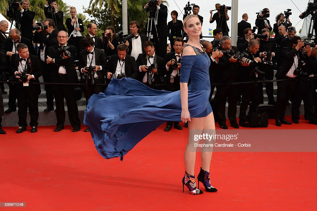 Sarah Marshall at the 'The Search' Premiere during 67th Cannes Film Festival
