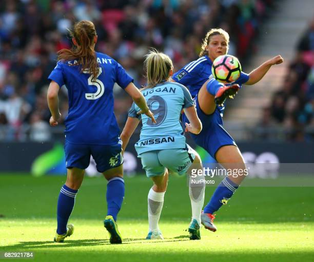 Sarah Mayling of Birmingham City LFC during The SSE FA Women's CupFinal match betweenBirmingham City Ladies v Manchester City women at Wembley...