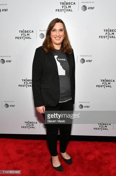 Sarah McBride attends Tribeca Celebrates Pride Day at 2019 Tribeca Film Festival at Spring Studio on May 4 2019 in New York City