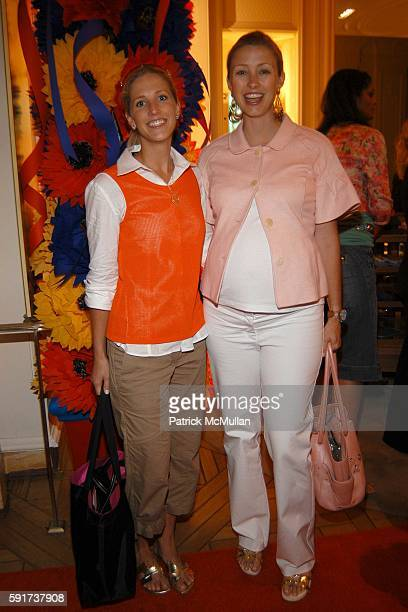 Sarah McClure and Blair Husain attend Madonna Childrens Book Lotsa de Casha published by Callaway Arts and Entertainment at Bergdorf Goodman on June...