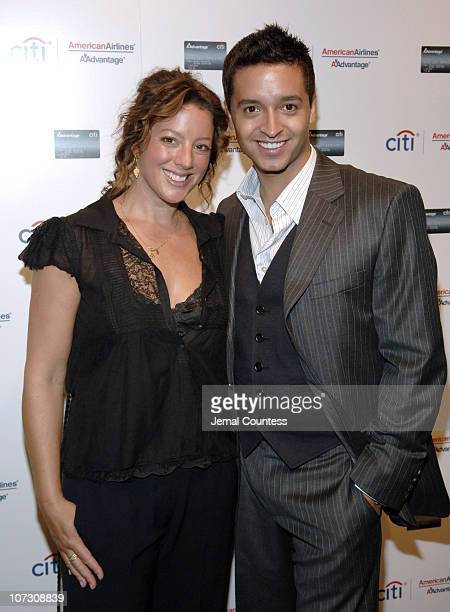 Sarah McLachlan and Jai Rodriguez during Private Performance by Sarah McLachlan with host Jai Rodriguez help to unveil Citi AAdvantage Card Private...