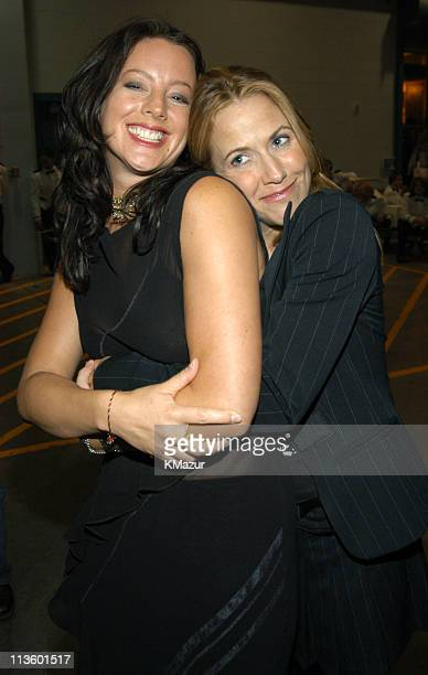 Sarah McLachlan and Sheryl Crow during The Andre Agassi Charitable Foundation's 8th 'Grand Slam for Children' Fundraiser Backstage at The MGM Grand...