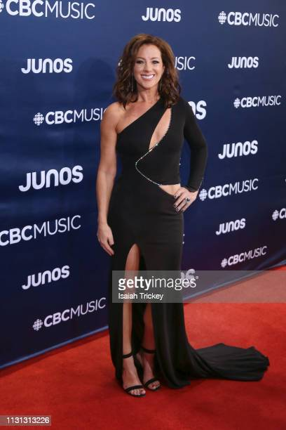 Sarah McLachlan arrives on the red carpet at the 2019 Juno Awards at London Convention Centre on March 17 2019 in London Canada