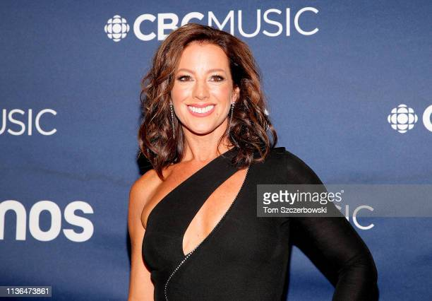Sarah McLachlan attends the 2019 Juno Awards Arrivals at Budweiser Gardens on March 17 2019 in London Canada
