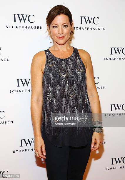Sarah McLachlan attends the IWC Schaffhausen Third Annual 'For the Love of Cinema' Gala during the Tribeca Film Festival on April 16 2015 in New York...