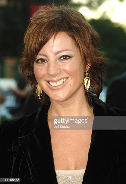 Sarah McLachlan during 33rd Annual American Music Awards Red Carpet at Shrine Auditorium in Los Angeles California United States