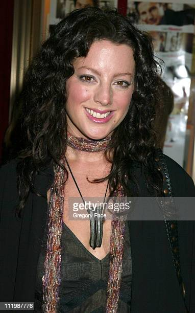 """Sarah McLachlan during """"Love Actually"""" - New York Premiere - Inside Arrivals at Ziegfeld Theatre in New York City, New York, United States."""