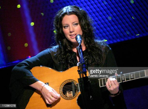 Sarah McLachlan during Oxygen Network's 'Sarah McLachlan Custom Concert Featuring Avril Lavigne' at The Supper Club in New York City New York United...