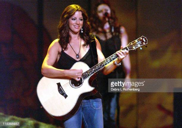 Sarah McLachlan during Sarah McLachlan Performs Live on her 'Afterglow' Tour August 9 2004 at Continental Arena in East Rutherford New Jersey United...