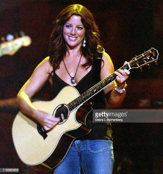 """Sarah McLachlan during Sarah McLachlan Performs Live on her """"Afterglow"""" Tour - August 9, 2004 at Continental Arena in East Rutherford, New Jersey,..."""