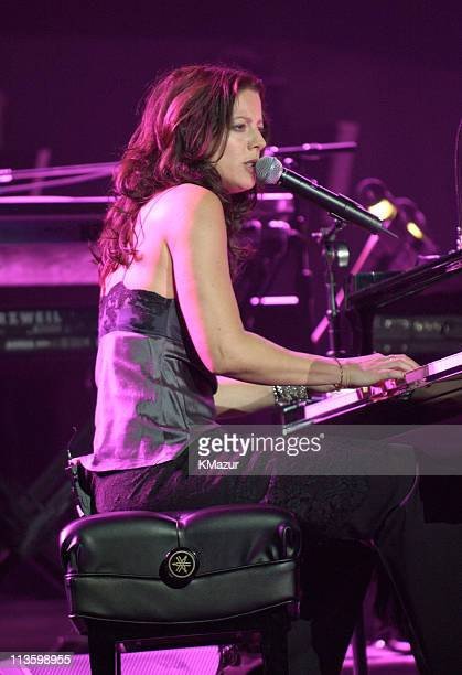 Sarah McLachlan during The Andre Agassi Charitable Foundation's 8th 'Grand Slam for Children' Fundraiser Show at The MGM Grand Hotel and Casino in...