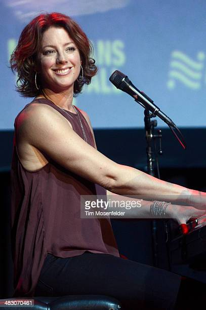 Sarah McLachlan performs as part of Live in the Vineyard at The Uptown Theatre on April 5 2014 in Napa California