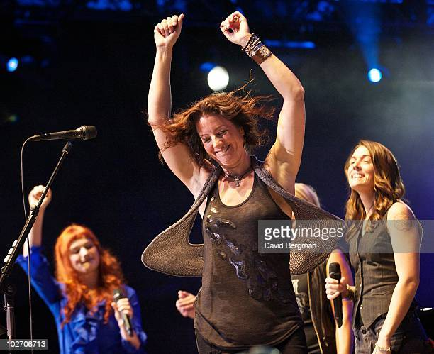 Sarah McLachlan performs at 2010 Lilith Fair at Cricket Wireless Amphitheatre on July 7, 2010 in San Diego, California.