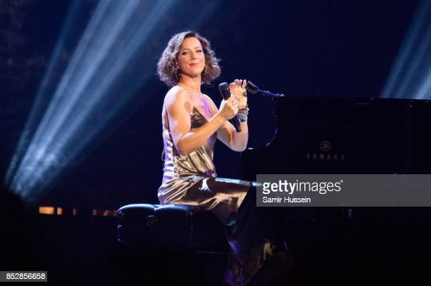 Sarah McLachlan performs at the opening ceremony on day 1 of the Invictus Games Toronto 2017 on September 23 2017 in Toronto Canada The Games use the...