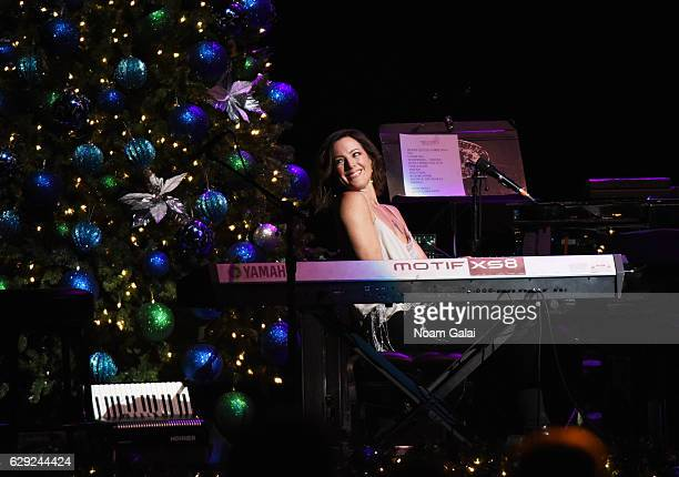 Sarah McLachlan performs at WCBSFM 1011's Holiday in Brooklyn concert at Barclays Center of Brooklyn on December 9 2016 in New York City