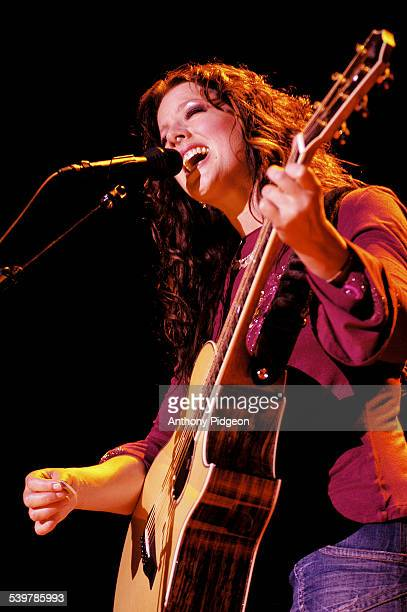 Sarah McLachlan performs on stage at The Greek Theater in Berkeley California USA on 10th July 2004