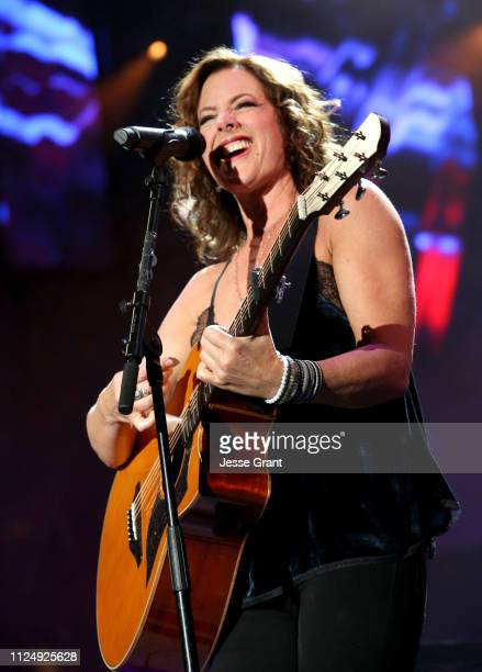Sarah McLachlan performs onstage at the Yamaha AllStar Concert during the 2019 NAMM Show at the Anaheim Convention Center on January 25 2019 in...