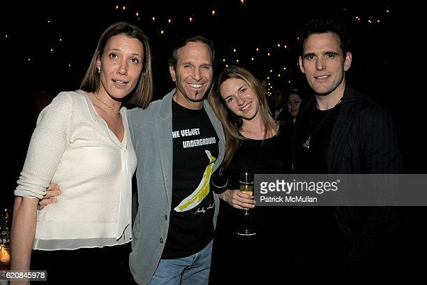 Sarah McNitt, Dr. Andrew Feldman, Heather Harmon and Matt Dillon attend The ARMORY SHOW 2008 Dinner Hosted by QUINTESSENTIALLY at The Gramercy Park...
