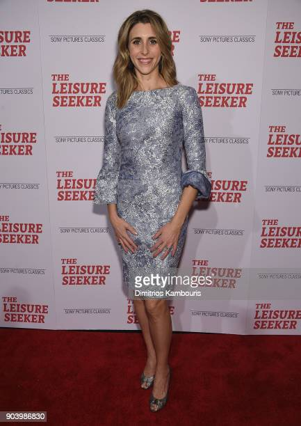 Sarah Megan Thomas attends 'The Leisure Seeker' New York Screening at AMC Loews Lincoln Square on January 11 2018 in New York City