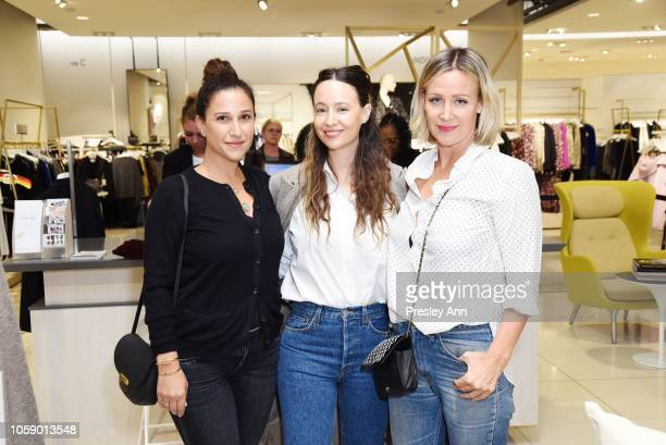 Sarah Meyer Jenni Kayne and Ali Taekman attend Jenni Kayne Nordstrom Popup Dinner on November 07 2018 in Los Angeles California