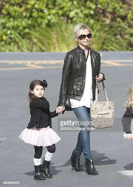 Sarah Michelle Gellar and Charlotte Prinze are seen on January 04 2014 in Los Angeles California