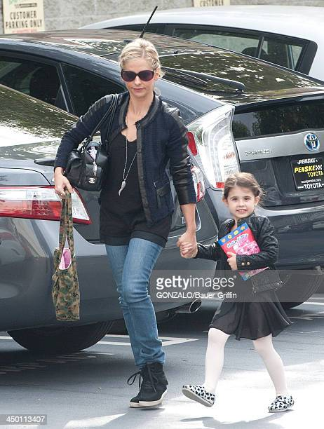 Sarah Michelle Gellar and Charlotte Prinze are seen on November 16 2013 in Los Angeles California