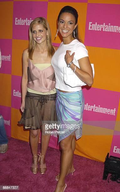 Sarah Michelle Gellar and Eva La Rue