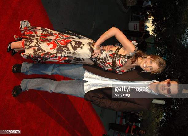 Sarah Michelle Gellar and Freddie Prinze Jr during Columbia Pictures 'The Grudge 2' Premiere at Knott's Scary Farm at Knott's Scary Farm in Buena...