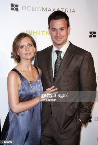 Sarah Michelle Gellar and Freddie Prinze Jr