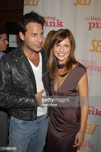 Sarah Michelle Gellar and Ricky Paull Goldin during Self Magazines Young Survival Coalition Benefit at Angel Orensanz Foundation in New York City New...