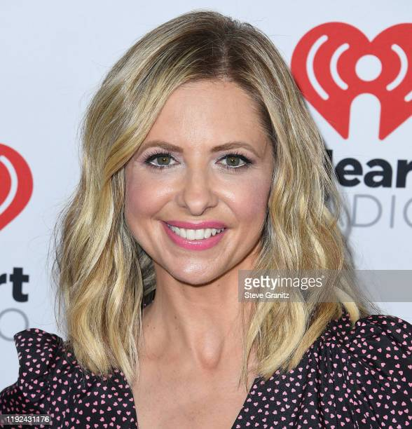 Sarah Michelle Gellar arrives at the KIIS FM's Jingle Ball 2019 Presented By Capital One At The Forum at The Forum on December 06, 2019 in Inglewood,...