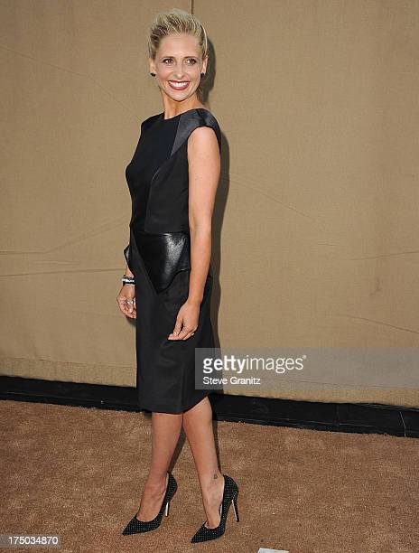 Sarah Michelle Gellar arrives at the Television Critic Association's Summer Press Tour CBS/CW/Showtime Party at 9900 Wilshire Blvd on July 29 2013 in...