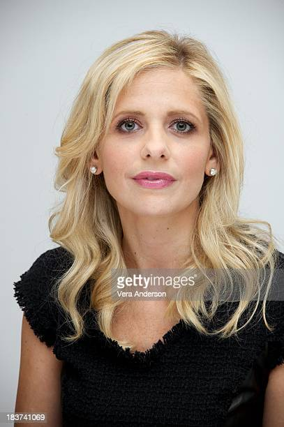 Sarah Michelle Gellar at 'The Crazy Ones' Press Conference at the Four Seasons Hotel on October 8 2013 in Beverly Hills California